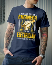 Electrician Ready Classic T-Shirt lifestyle-mens-crewneck-front-6