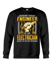 Electrician Ready Crewneck Sweatshirt thumbnail