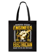Electrician Ready Tote Bag thumbnail