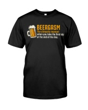 Beergasm Classic T-Shirt front