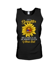 Just 3rd Armored Daughter Unisex Tank thumbnail
