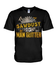 Sawdust V-Neck T-Shirt tile