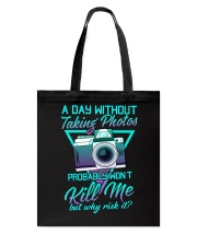 Why Risk It 3 Tote Bag thumbnail