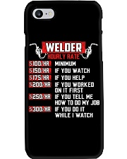 Welder Hourly Rate Phone Case thumbnail