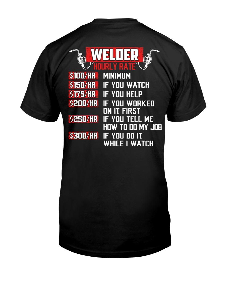Welder Hourly Rate Classic T-Shirt