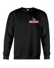 Welder Hourly Rate Crewneck Sweatshirt thumbnail