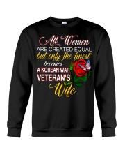 Finest Wife Korean War Crewneck Sweatshirt thumbnail