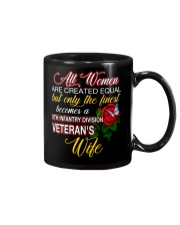 Finest Wife 9th Infantry Mug thumbnail