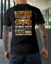 Mafia Carpenter Classic T-Shirt lifestyle-mens-crewneck-back-3