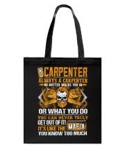 Mafia Carpenter Tote Bag thumbnail