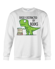Distracted By Books Crewneck Sweatshirt thumbnail