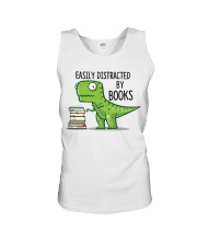 Distracted By Books Unisex Tank thumbnail