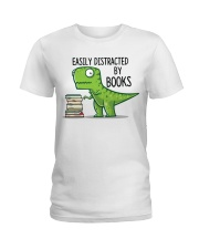 Distracted By Books Ladies T-Shirt thumbnail