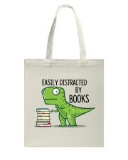 Distracted By Books Tote Bag thumbnail