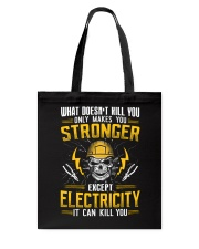 Electricity Can Tote Bag thumbnail