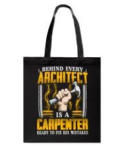 Carpenter Ready Tote Bag thumbnail