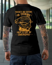 No Crying Classic T-Shirt lifestyle-mens-crewneck-back-3