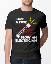 Save A Fuse Classic T-Shirt lifestyle-mens-crewneck-front-13