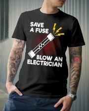 Save A Fuse Classic T-Shirt lifestyle-mens-crewneck-front-6