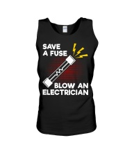 Save A Fuse Unisex Tank thumbnail