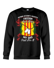 My Dad Paid For Freedom Crewneck Sweatshirt thumbnail