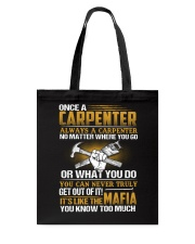 Mafia Carpenter Tote Bag thumbnail