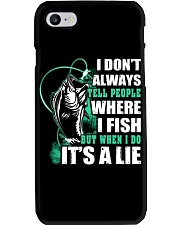 Tell A Lie Phone Case thumbnail