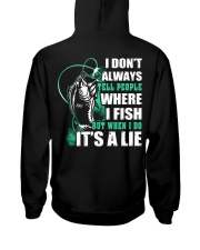 Tell A Lie Hooded Sweatshirt thumbnail