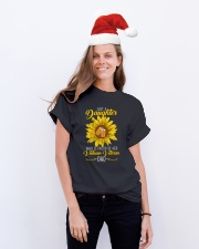 Just Vietnam Veteran Daughter Classic T-Shirt lifestyle-holiday-crewneck-front-1