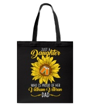 Just Vietnam Veteran Daughter Tote Bag thumbnail