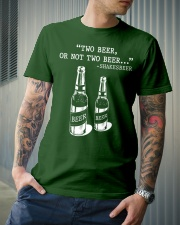 Two Beer Classic T-Shirt lifestyle-mens-crewneck-front-6