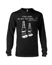 Two Beer Long Sleeve Tee thumbnail