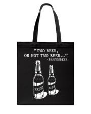 Two Beer Tote Bag thumbnail