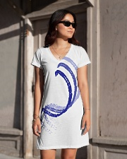 Blue Curves All-over Dress aos-dress-front-lifestyle-1