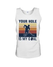 Your Hole Is My Goal Vintage Retro Unisex Tank thumbnail