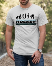 Hockey The Evolution Of  Sports Classic T-Shirt apparel-classic-tshirt-lifestyle-front-53