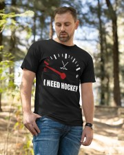 I Need Hockey Classic T-Shirt apparel-classic-tshirt-lifestyle-front-49