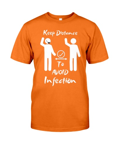 Keep Distance to avoid infection