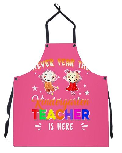 Funny Kindergarten Teacher Never Fear Kinder
