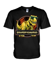 Grand-Pa Saurus Tee For Thanks Giving V-Neck T-Shirt thumbnail