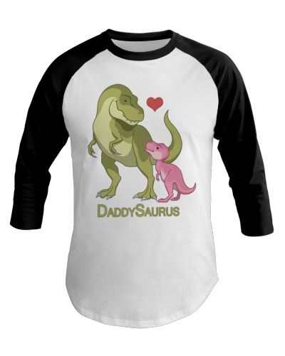 Daddy Saurus T Rex Father Baby Girl Dinosaurs