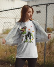 Dinosaur Thanksgiving Pilgrim Shirt T Rex Gifts Classic T-Shirt apparel-classic-tshirt-lifestyle-07