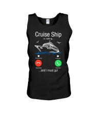 Cruise Ship Is Calling And I Must Go Tee Cruising Unisex Tank thumbnail