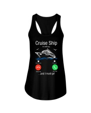 Cruise Ship Is Calling And I Must Go Tee Cruising Ladies Flowy Tank thumbnail