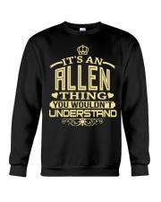 ALLEN THING GOLD SHIRTS Crewneck Sweatshirt thumbnail