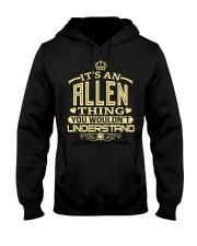 ALLEN THING GOLD SHIRTS Hooded Sweatshirt thumbnail