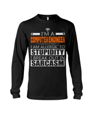 COMPUTER ENGINEER SARCASM JOB TSHIRTS Long Sleeve Tee tile