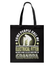 CALL ME ELECTRICAL FITTER GRANDPA JOB SHIRTS Tote Bag thumbnail