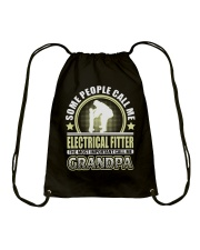 CALL ME ELECTRICAL FITTER GRANDPA JOB SHIRTS Drawstring Bag thumbnail