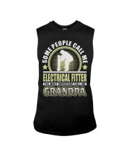 CALL ME ELECTRICAL FITTER GRANDPA JOB SHIRTS Sleeveless Tee thumbnail